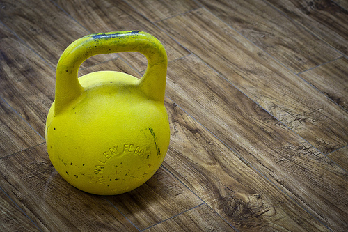 Kettlebell Squat+Distensioni